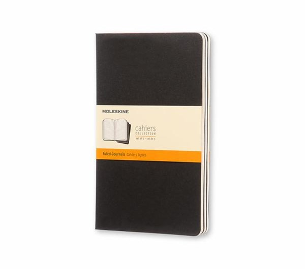 Moleskine Ruled Cahier L: Large