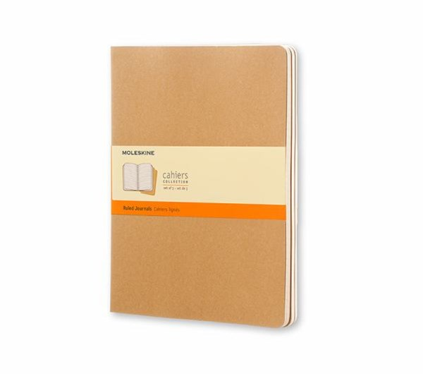 Moleskine Ruled Cahier XL: Extra Large