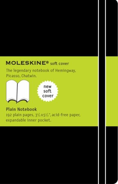 Moleskine Soft Cover Pocket Plain