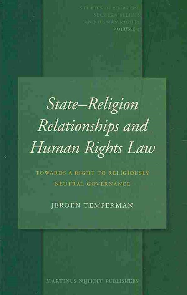 StateReligion Relationships and Human Rights Law