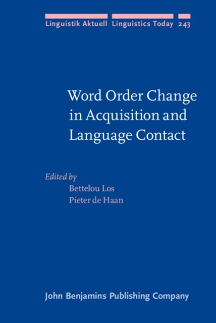 (ebook) Word Order Change in Acquisition and Language Contact