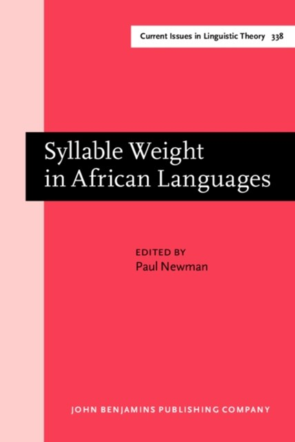 Syllable Weight in African Languages