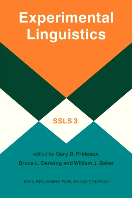 (ebook) Experimental Linguistics