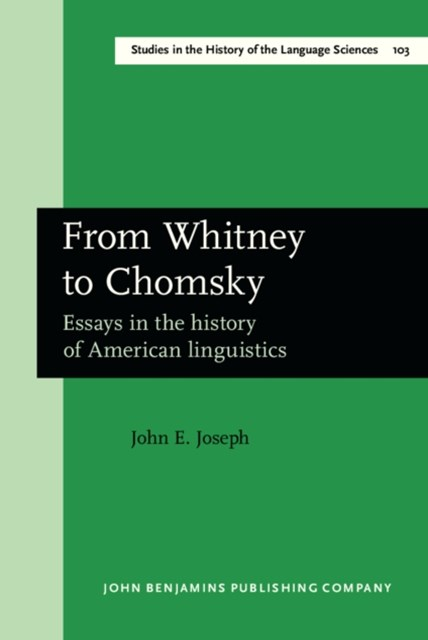From Whitney to Chomsky