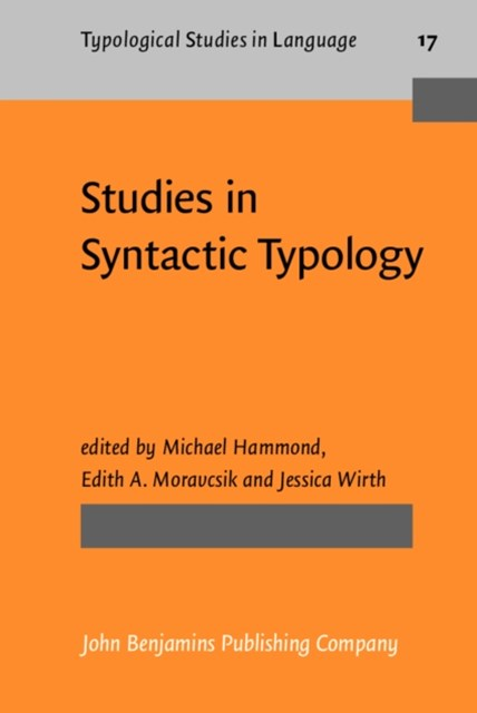 Studies in Syntactic Typology