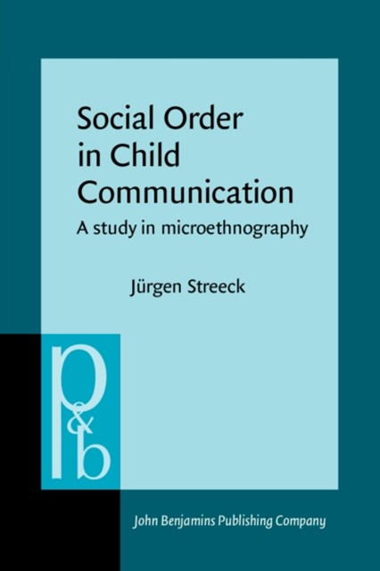 (ebook) Social Order in Child Communication