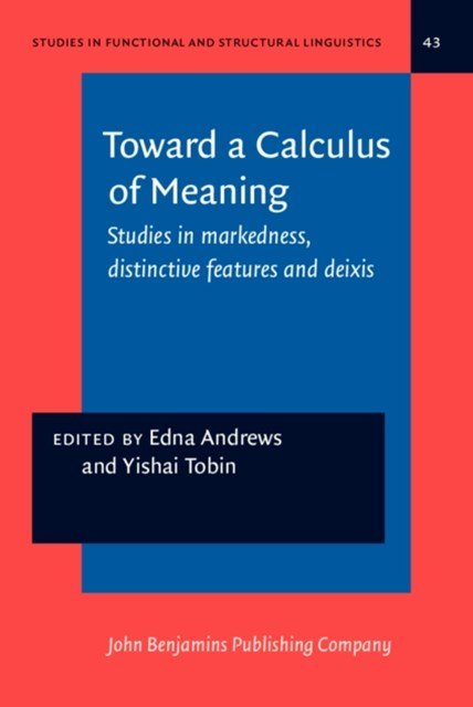 (ebook) Toward a Calculus of Meaning