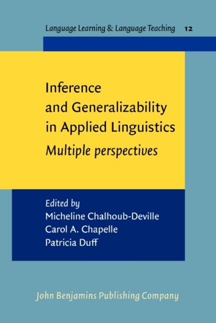 (ebook) Inference and Generalizability in Applied Linguistics