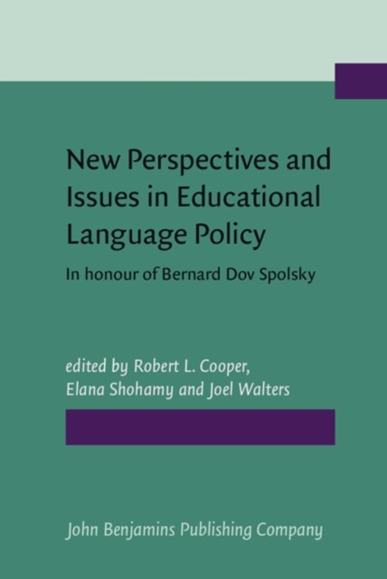 New Perspectives and Issues in Educational Language Policy
