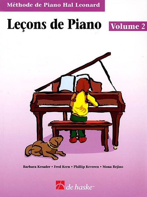 Piano Lessons Book 2 - French Edition