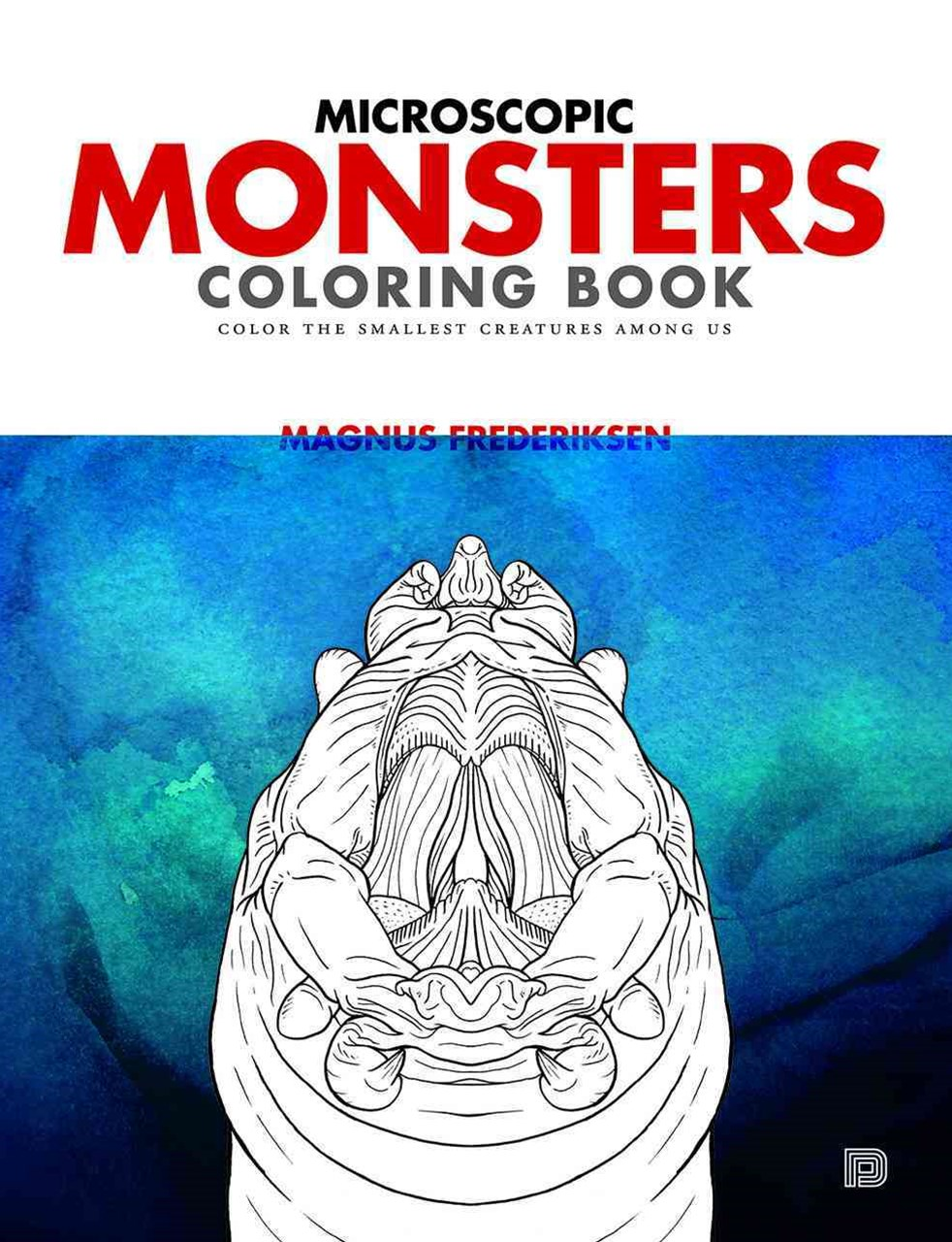 Microscopic Monsters Coloring Book