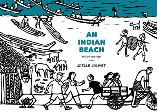 Indian Beach - By Day and Night