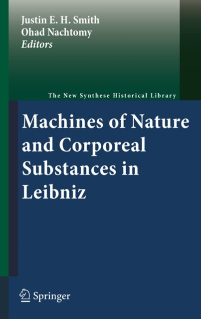 (ebook) Machines of Nature and Corporeal Substances in Leibniz