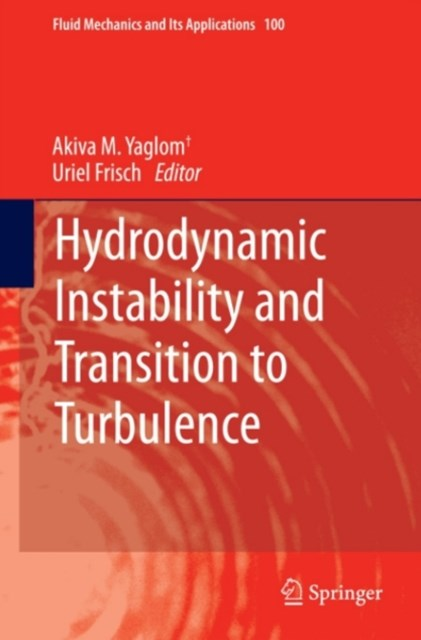 Hydrodynamic Instability and Transition to Turbulence