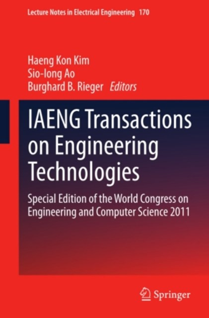 IAENG Transactions on Engineering Technologies