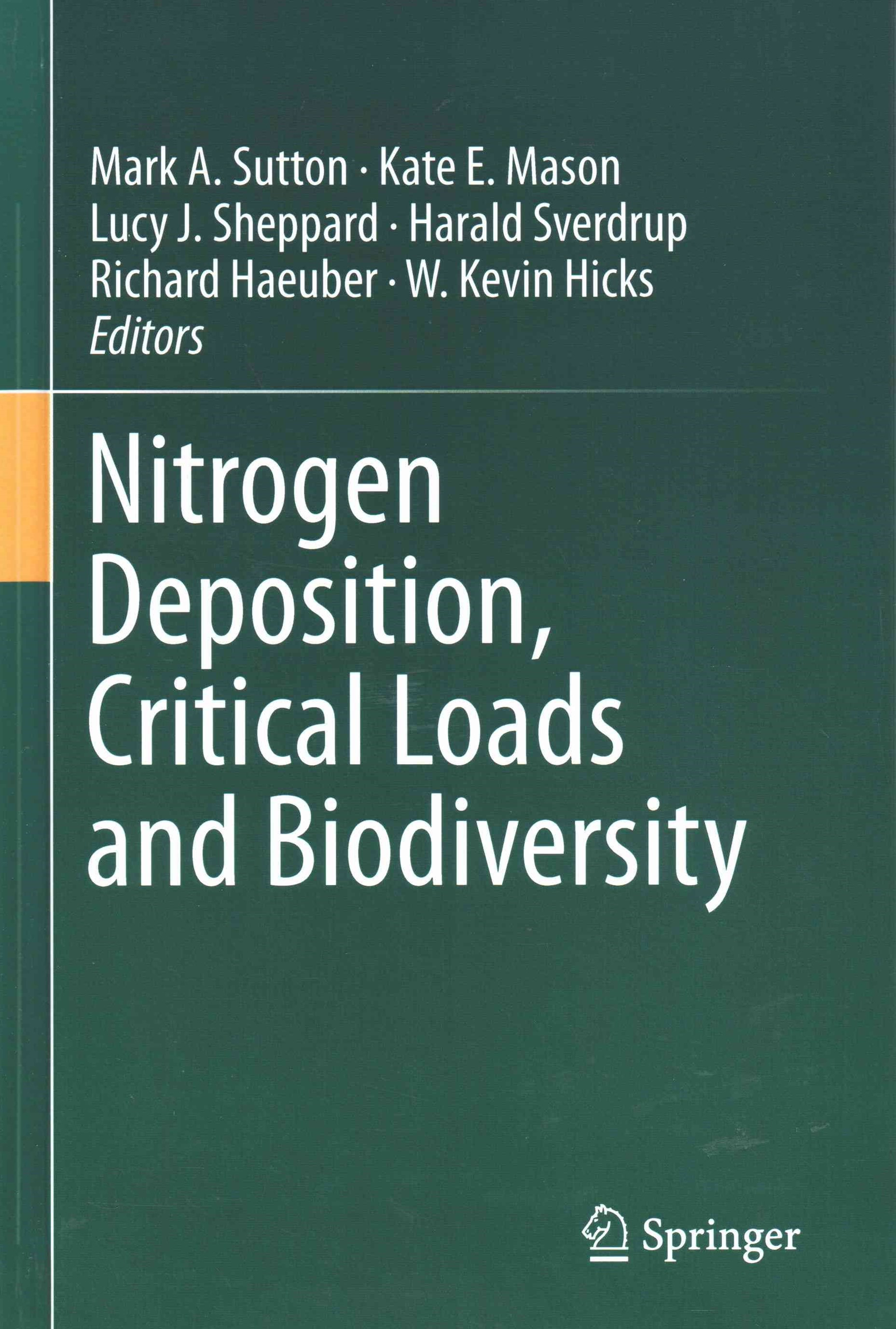 Nitrogen Deposition, Critical Loads and Biodiversity