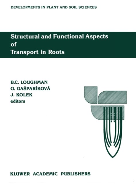 (ebook) Structural and Functional Aspects of Transport in Roots