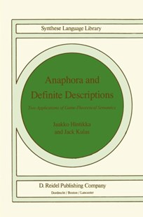 (ebook) Anaphora and Definite Descriptions - Philosophy Modern