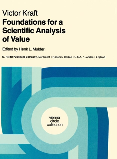 (ebook) Foundations for a Scientific Analysis of Value