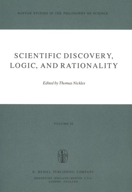(ebook) Scientific Discovery, Logic, and Rationality