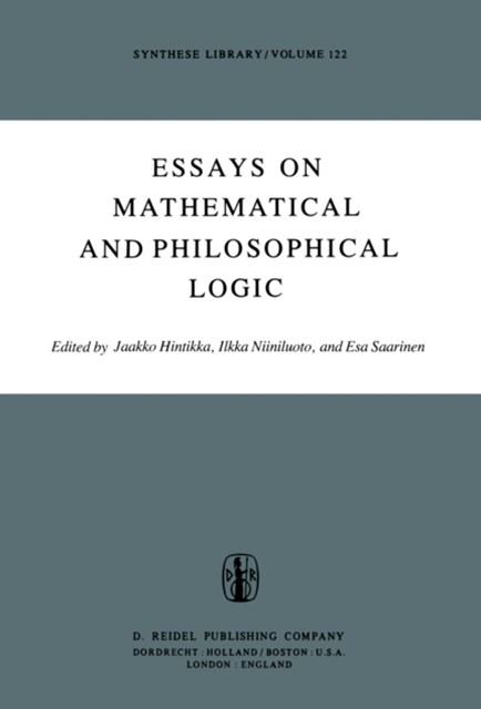 (ebook) Essays on Mathematical and Philosophical Logic