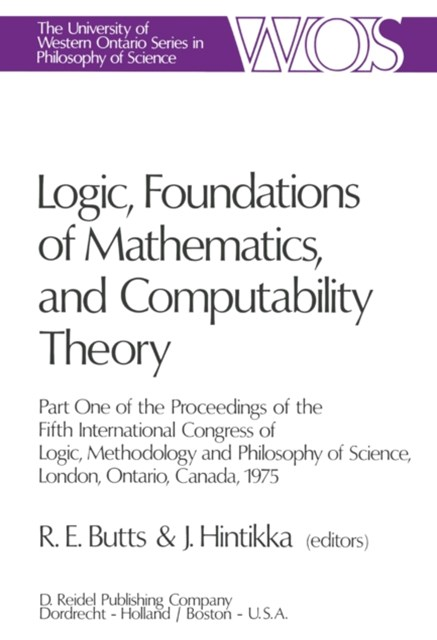 Logic, Foundations of Mathematics, and Computability Theory