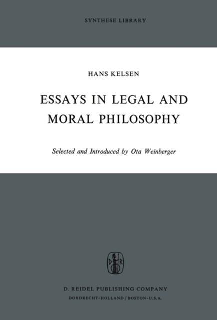 Essays in Legal and Moral Philosophy