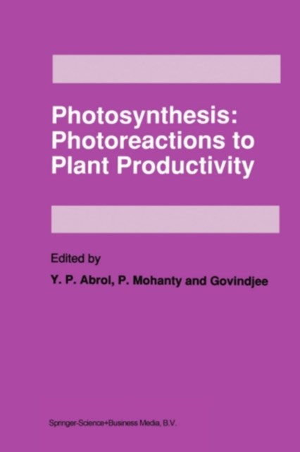 Photosynthesis: Photoreactions to Plant Productivity