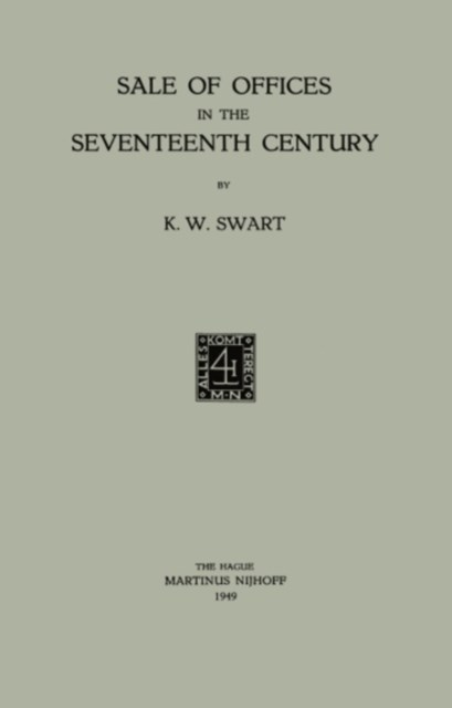 Sale of Offices in the Seventeenth Century
