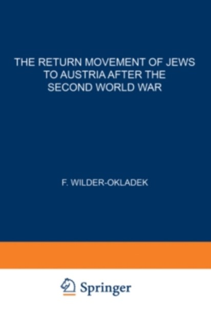 Return Movement of Jews to Austria after the Second World War