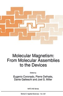 (ebook) Molecular Magnetism: From Molecular Assemblies to the Devices - Science & Technology Chemistry