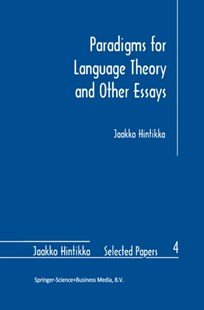 (ebook) Paradigms for Language Theory and Other Essays - Philosophy Modern