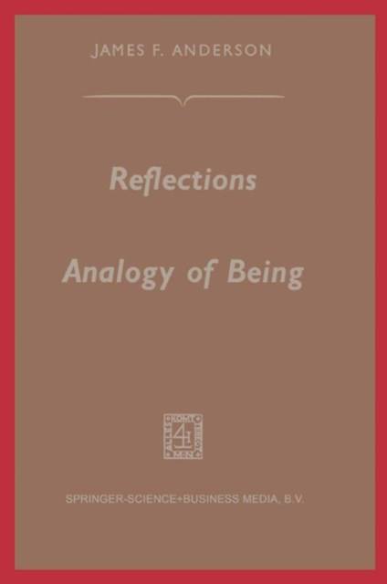 Reflections on the Analogy of Being