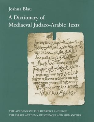 A Dictionary of Mediaeval Judaeo-Arabic Texts