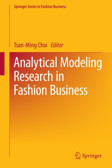 (ebook) Analytical Modeling Research in Fashion Business