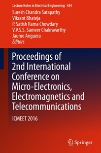 (ebook) Proceedings of 2nd International Conference on Micro-Electronics, Electromagnetics and Telecommunications - Science & Technology Engineering