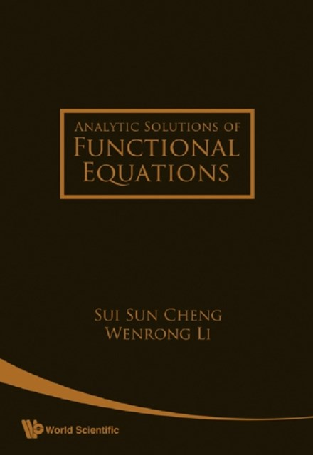 Analytic Solutions Of Functional Equations