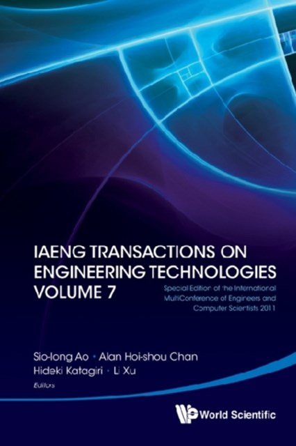 Iaeng Transactions On Engineering Technologies Volume 7 - Special Edition Of The International Mult