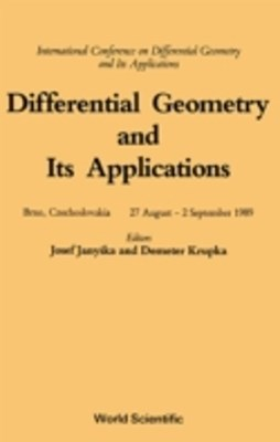 Differential Geometry And Its Applications - International Conference