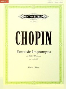 Fantaisie-Impromtu In C Sharp Minor Piano Solo by Frederic Chopin (9790014109554) - PaperBack - Entertainment Music General