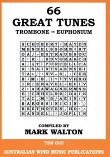 66 Great Tunes for Trombone & Euphonium by Various (9790720202389) - PaperBack - Entertainment Music General