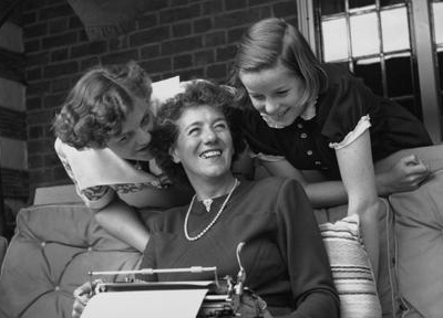 Enid Blyton, author. (Author categories: Children's Book)