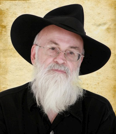 Terry Pratchett, author. (Author categories: Fantasy and Sci-Fi)
