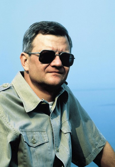 Tom Clancy, author. (Author categories: Literature & Fiction, Crime and Thriller)