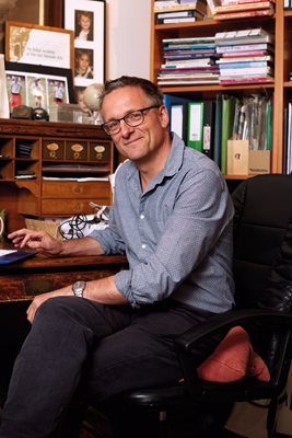 Dr Michael Mosley, author.