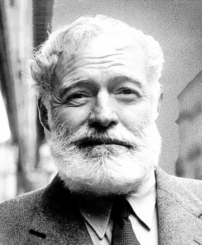 Ernest Hemingway, author. (Author categories: Literature & Fiction)