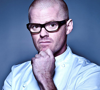 Heston Blumenthal, author. (Author categories: Celebrity Chef)