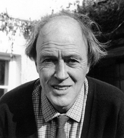 Roald Dahl, author. (Author categories: Children's Book)