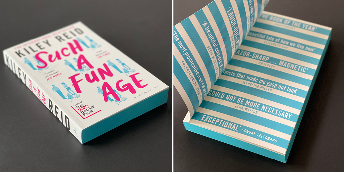 Exclusive sprayed edges and Q&A of SUCH A FUN AGE EXCLUSIVE EDITION by Kiley Reid