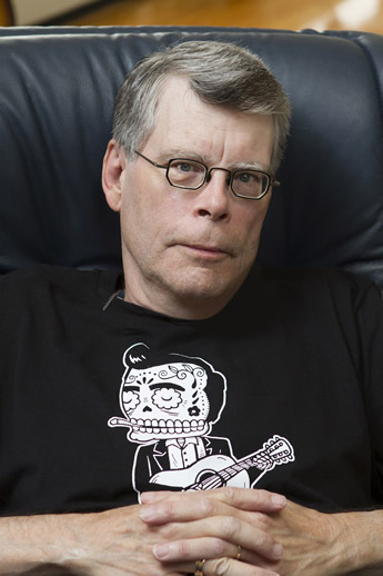 Stephen King, author. (Author categories: Literature & Fiction, Fantasy and Sci-Fi)